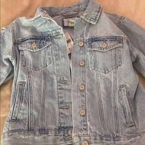 NWT forever 21 distressed jacket